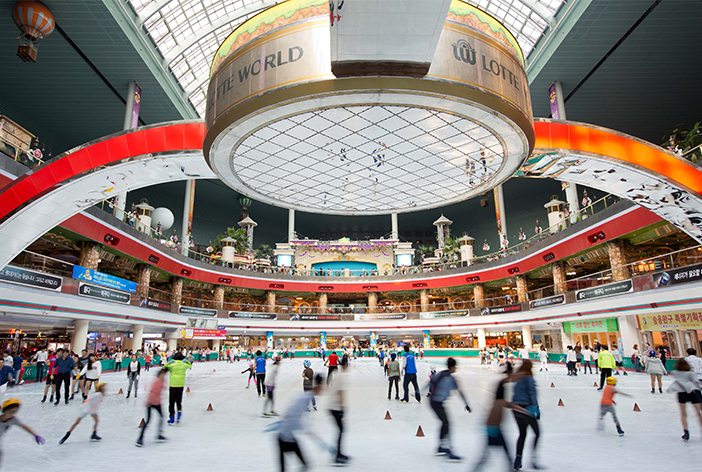 Lotte World Ice Rink (Credit: Lotte World)