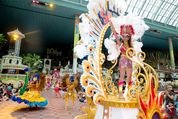 Seasonal Samba Festival (Credit: Lotte World)