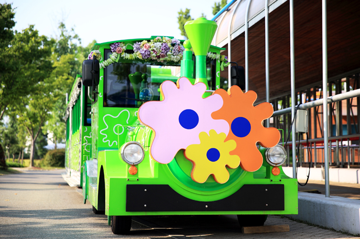 Suncheonman Bay National Garden trolley