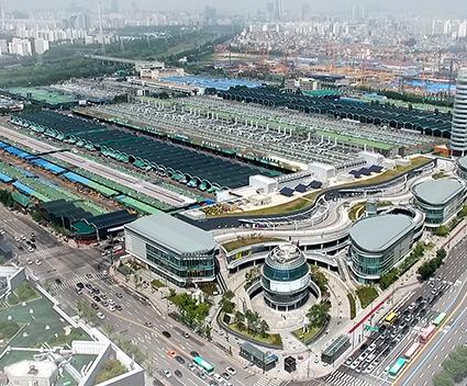 可樂市場 (圖片來源: 首爾市農水產品食品公社)