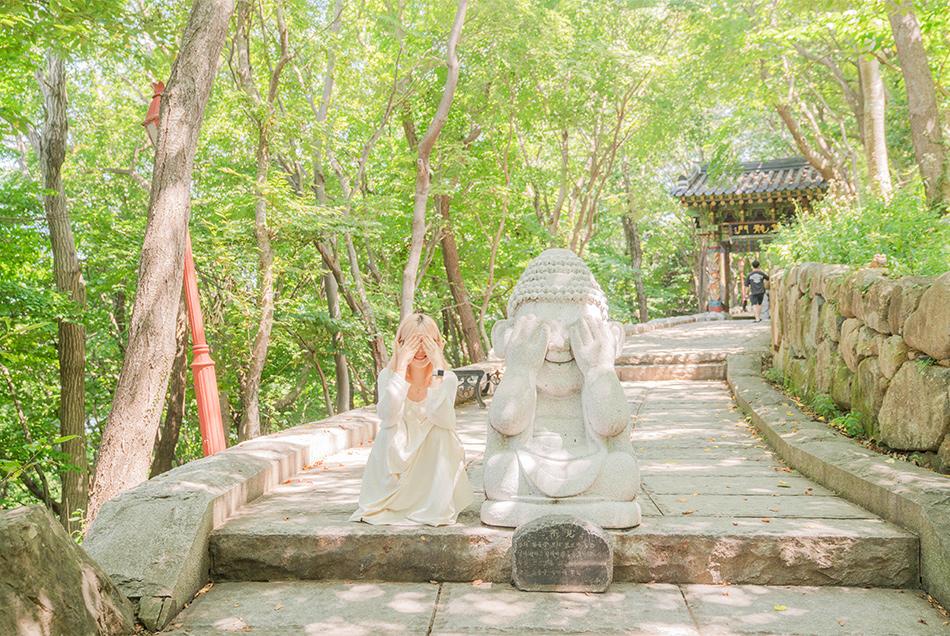向日庵 (Hyangiram Hermitage)