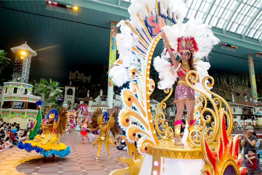 Carnaval Río Samba (cortesía de Lotte World)