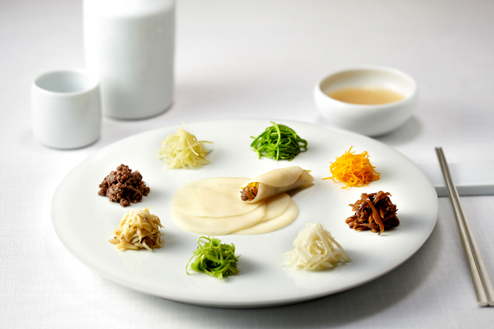 "Traditional Korean cuisine <em />""gujeolpan""</em> (Credit: La Yeon)"