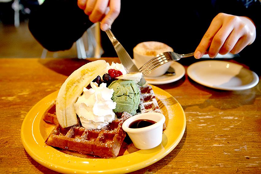 Cafeterías en Hapjeong-dong