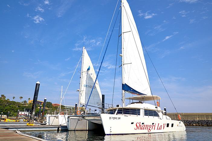 Tour en yacht