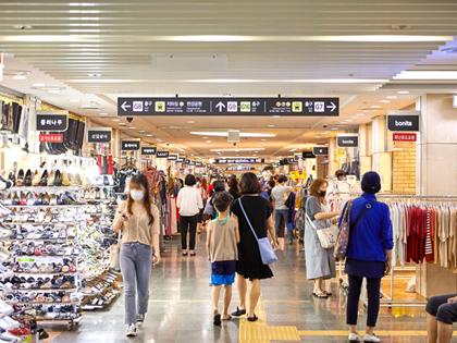 地下購物天堂,首爾5大地下購物中心