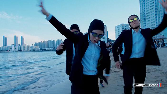 """Strand Gwangalli im Video """"Feel the Rhythm of Korea: Busan"""""""