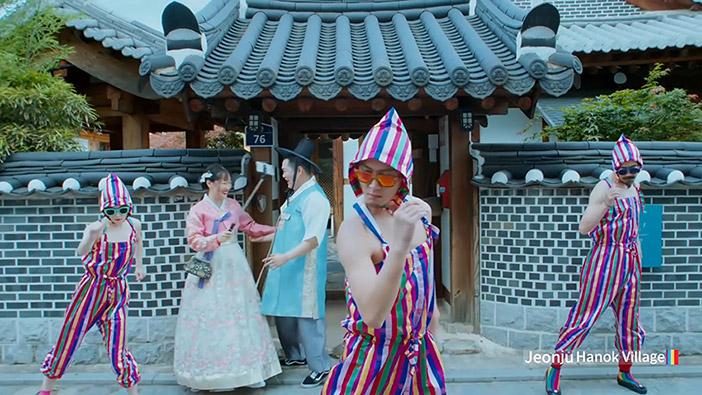 "Hanok-Dorf Jeonju im Video ""Feel the Rhythm of Korea: Jeonju"""
