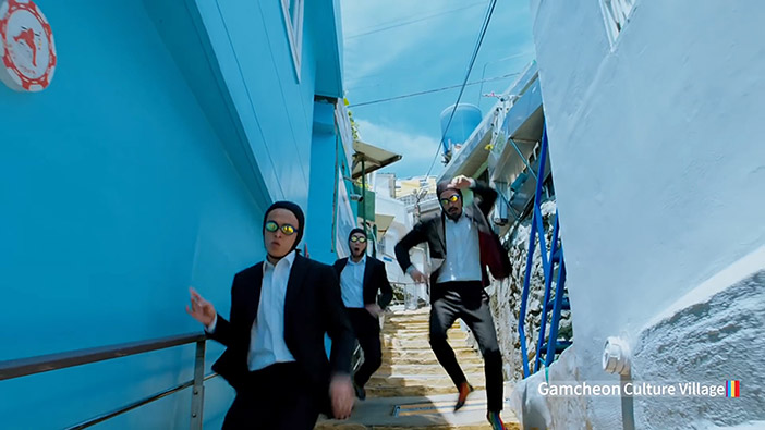 "Kulturdorf Gamcheon im Video ""Feel the Rhythm of Korea: Busan"""