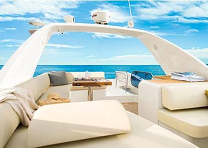 Внутри яхты (Фото предоставлено: Hansan Marina Hotel & Resort)