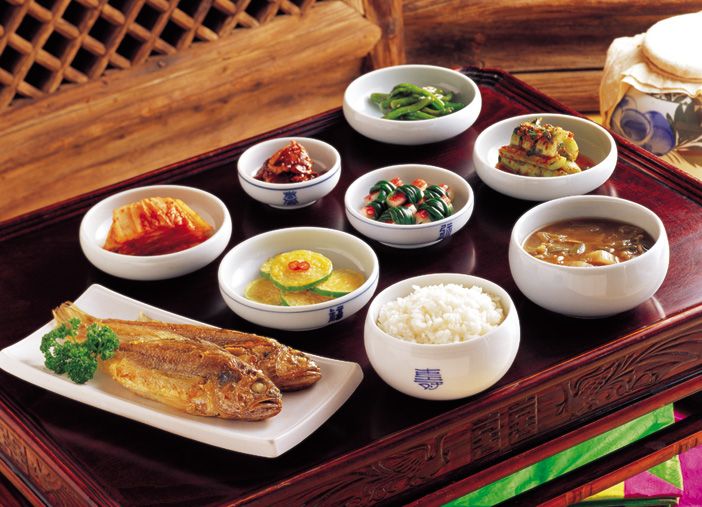 Traditional Korean Foods