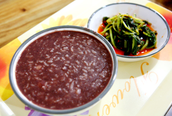 Red bean porridge, Gaettong's favorite