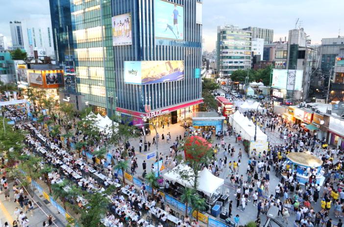 Yonsei-ro Street