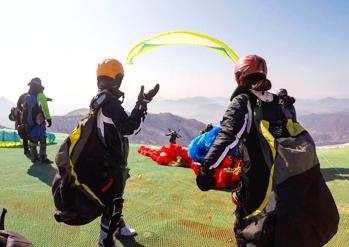 Paragliding with Mirae Aero Sports