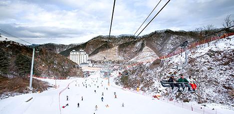 冬日推荐旅行!韩国滑雪度假村