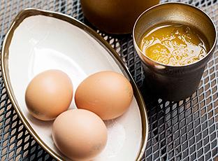 맥반석 달걀과 호박식혜