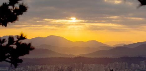 迎2017年新年,首尔的日出&日落观景地
