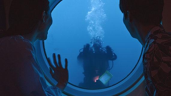 西帰浦潜水艦