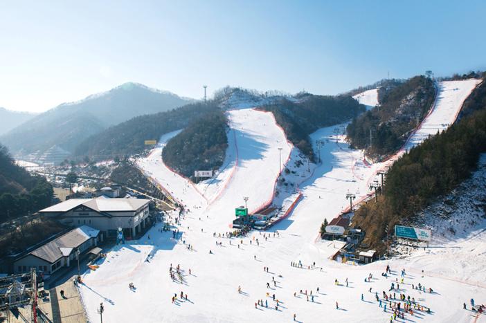 Elysian Gangchon Ski Resort (Credit: Elysian Resort)