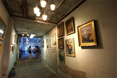 Joyangbangjik café and gallery
