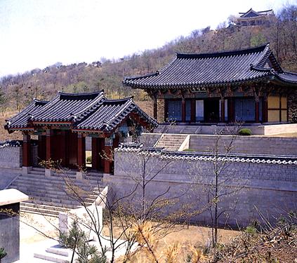 Templo Chungjangsa (cortesía de la Administración de Patrimonios Culturales)