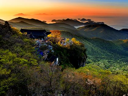 Насладитесь пейзажами Намхэ в провинции Кёнсан-намдо