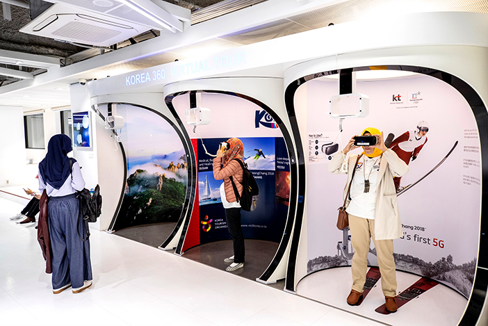 Virtual Reality (VR) Experience Zone