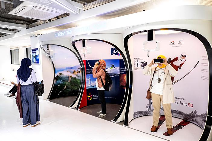Zone d'activités autour de la réalité virtuelle