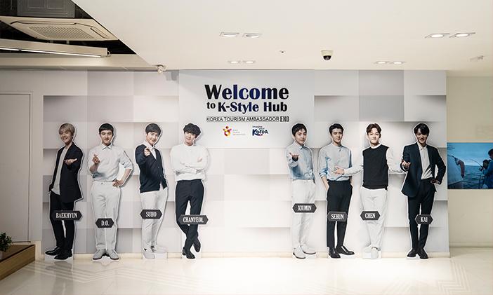 Hallyu Experience Zone (Credit: K-Style Hub)