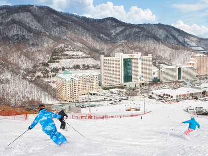 Viva un invierno a pura emoción en las estaciones de esquí de Corea