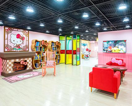 Выставочный зал «Hello Kitty Island» (Источник: N Seoul Tower)