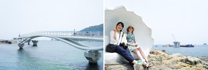 松岛海水浴场的规模虽然较其他海水浴场小一些