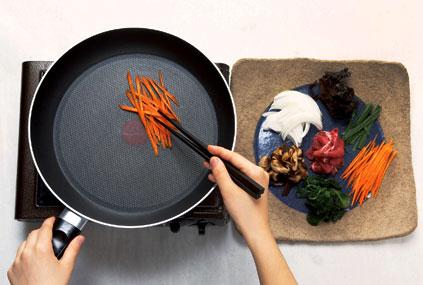 Japchae zubereiten