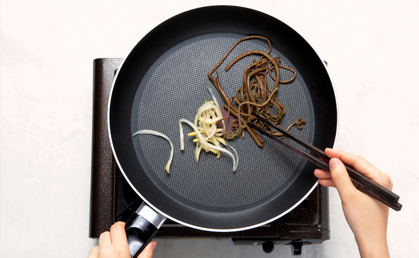 Bibimbap zubereiten