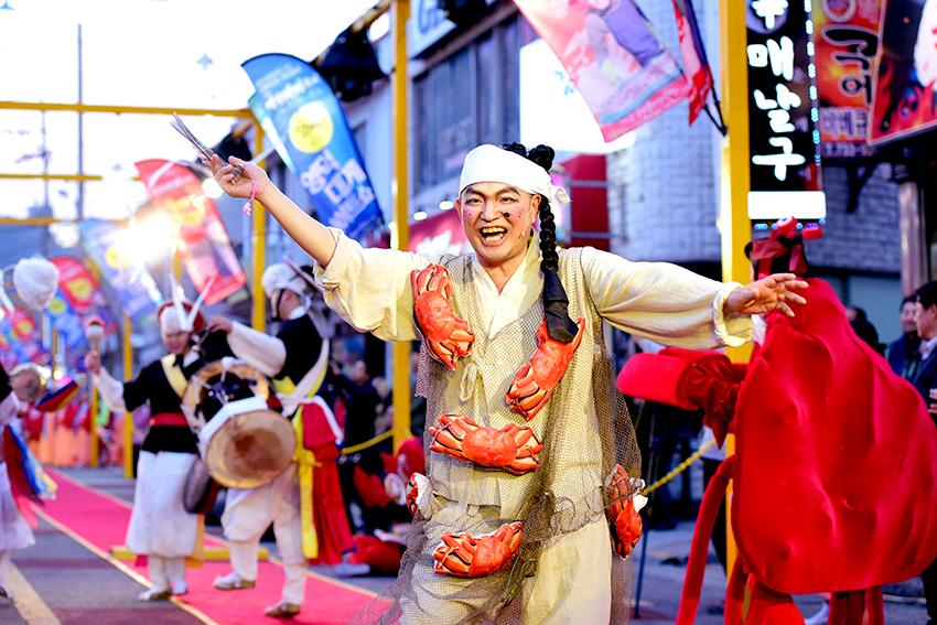 Festival del Cangrejo de las Nieves (Daege) de Yeongdeok (cortesía del comité organizador).