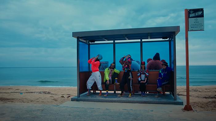 "Vues de la plage Hyangho apparue dans le clip ""Feel the Rhythm of KOREA: GANGNEUNG"""