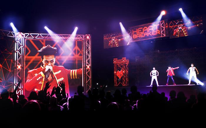 G-Dragonのホログラムコンサート「AWAKE」(写真提供:Klive)