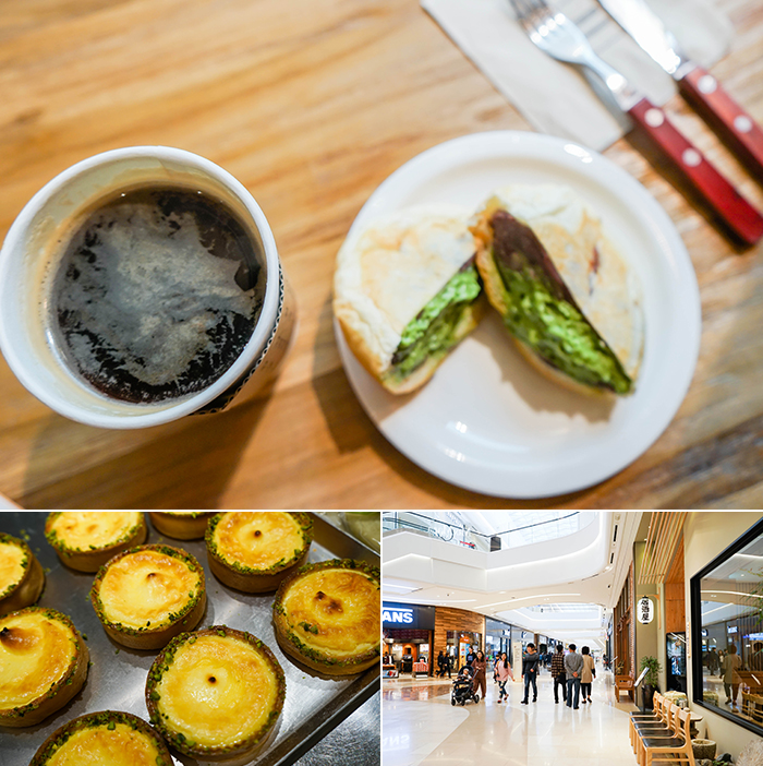 Photo: Delicious food and coffee at Gourmet Street