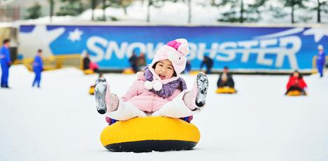 冬の韓国でスケート&雪ソリを楽しもう