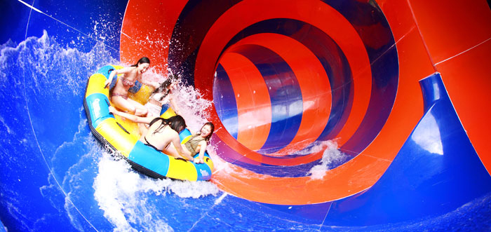 Water slide at Vivaldi Park Ocean World (Credit: Vivaldi Park Ocean World)