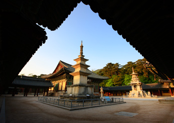 Bulguksa Temple landscapes