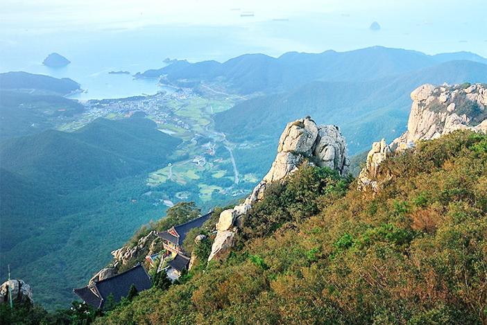 南海の景色(写真提供:南海未来新聞)