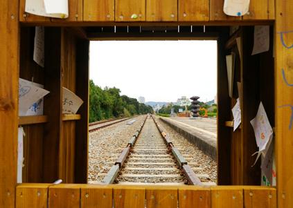 松亭站鐵道