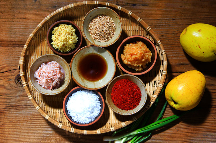 Seasoning ingredients of kimchi
