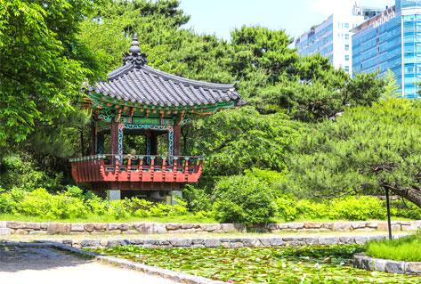 一山湖水公園(圖片來源: 京畿觀光官方網站)