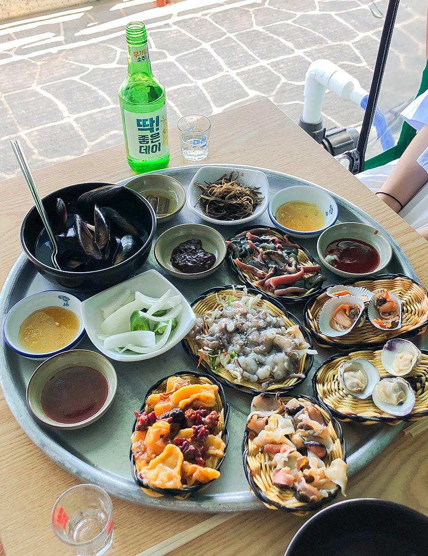 Meeresfrüchte bei Giman's Mom