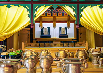 Photo: Interior of Jongmyo Shrine