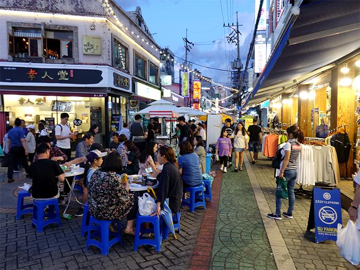 Rue Yeonsinnae Rodeo (aut : Arrond. Eunpyeong)