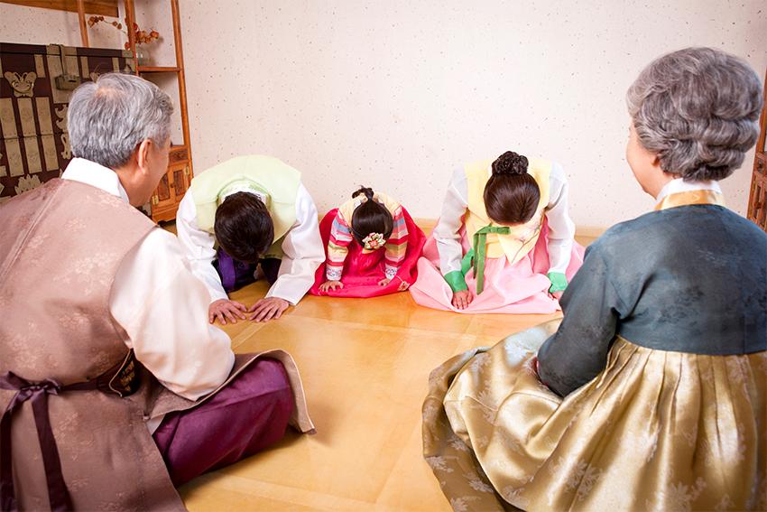 «Мешочки счастья» покчжумони на праздник Соллаль