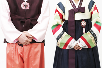 Photo: Male & Female Hanbok